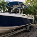 2001 Bluewater 2550 Center Console