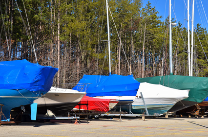 Boats Winterized for Storage