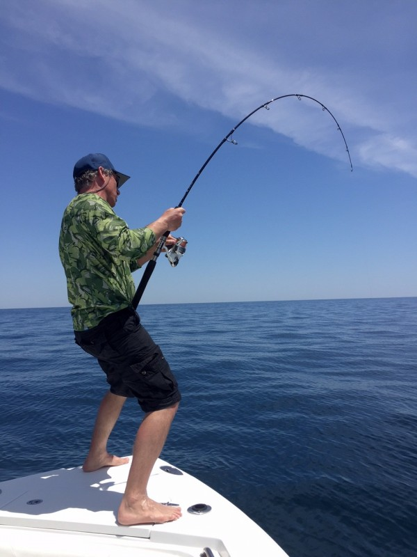 Destin fishing report for april 29 2015 active fisherman for Destin florida fishing report