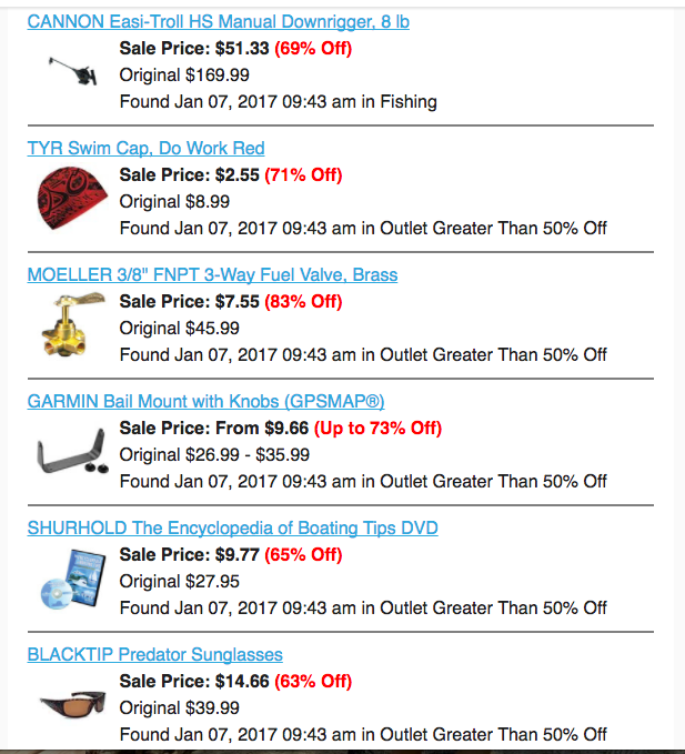 Discount Fishing Gear, Marine Supplies & Marine Electronics